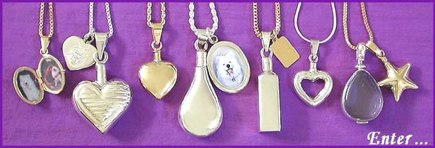 pet memorial jewelry and cremation urn pendant keepsakes